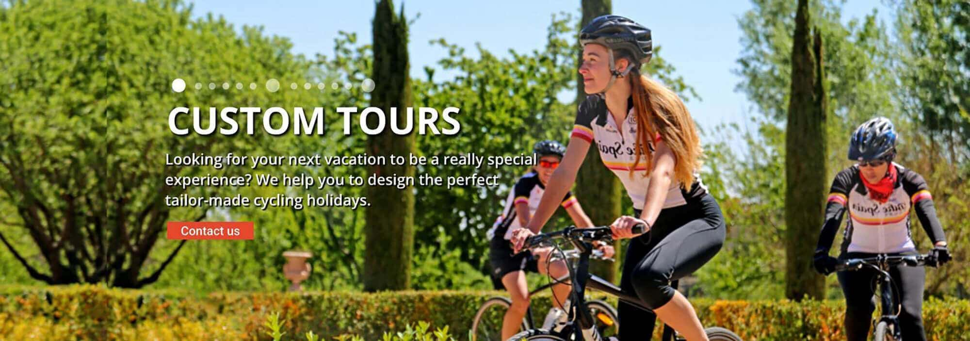 Bike Spain Custom Tours