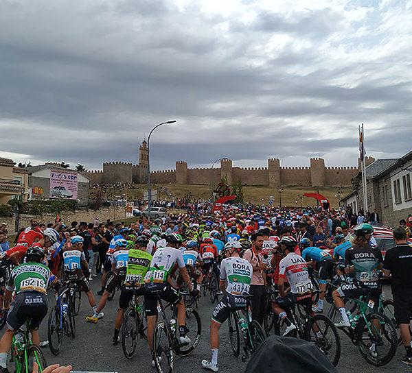 Vuelta spain cycling tour