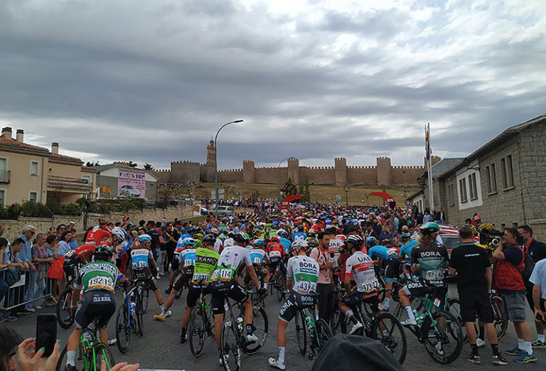 Vuelta spain cycling tour