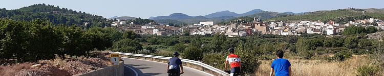 Valencia Castello Bike trip Costa blanca
